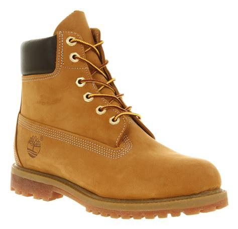 boots shoes womens timberland premium 6 boots wheat nubuck boots ebay