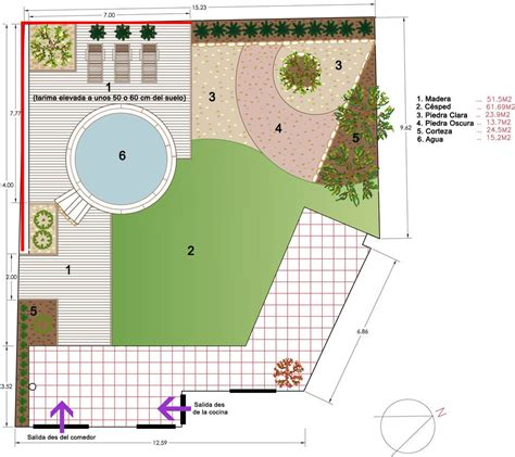 feng shui garden layout jardin minimalista autocad buscar con autocad