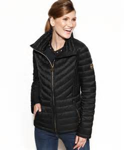 Michael kors michael packable quilted down puffer coat in black black