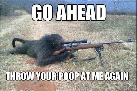 Ape Meme - sniper ape memes quickmeme