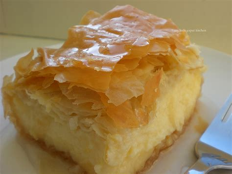 Farm Style Homes by Galaktompoureko Greek Dessert With Phyllo Filled With