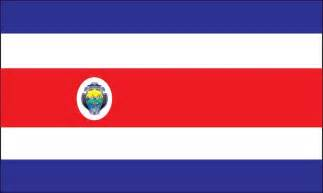 costa rica colors how to draw flag costa rica