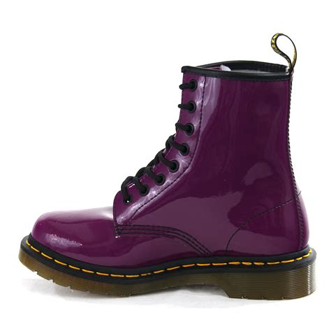 dr martens shoes for dr martens boots purple 1460 patent footwear shin