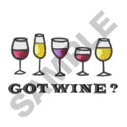 embroidery design wine glass great notions embroidery design wine glasses 1 52 inches