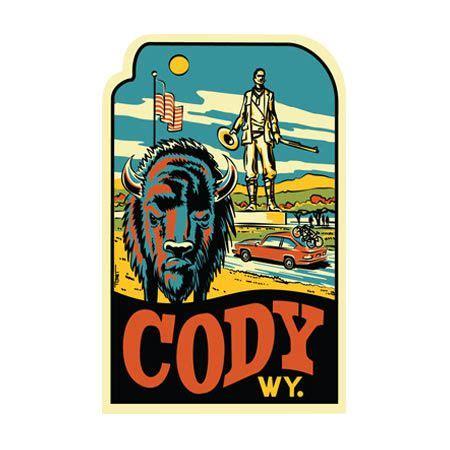 Wyoming Tourism Stickers