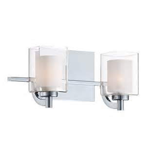 Chrome Bathroom Lights Quoizel Klt8602c Kolt 2 Light Bath Vanity Light In Polished Chrome
