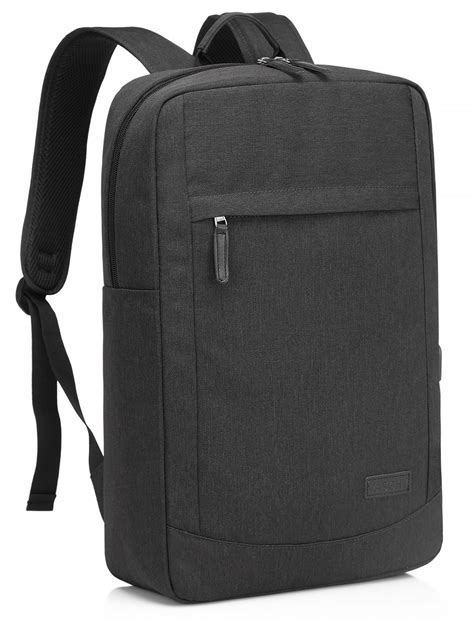 VASCHY Business 17 inch Laptop Backpack with Built-in