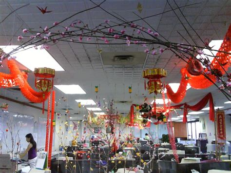 new year decorations office goes on february 2007