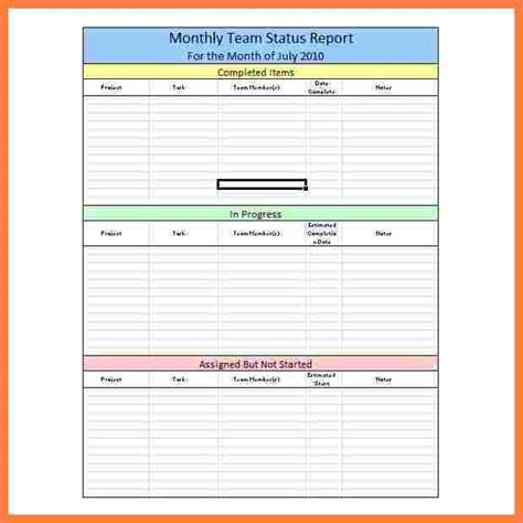 project management progress report template 8 weekly progress report template project management