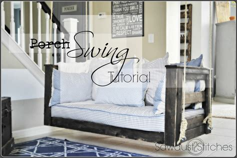 Crib Porch Swing by Crib Mattress Porch Swing Sawdust 2 Stitches