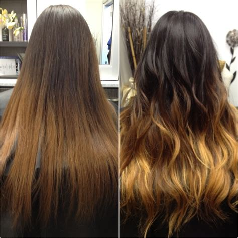 how long does ombre hair color last subtle vs striking the difference between ombr 233 and balayage