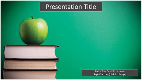 free education powerpoint template 6238 sagefox