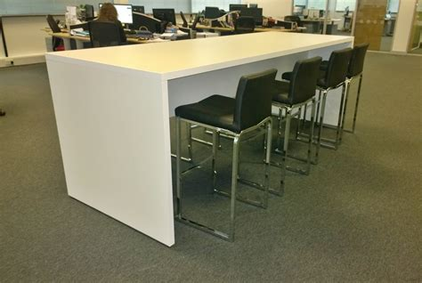 bench for office breakout high tables office and workplace tall tables