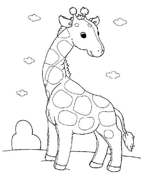 Baby Animal Coloring Pages Free coloring baby animals coloring pages