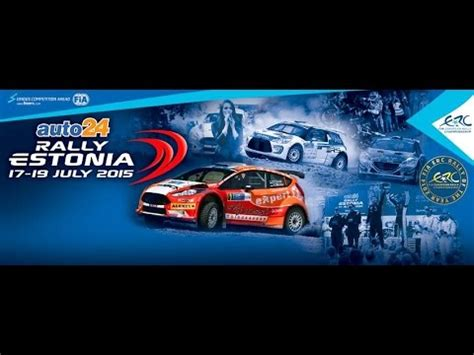 6 Auto24 Rally Estonia 2015 by Fia Erc Auto24 Rally Estonia 2015 Promo