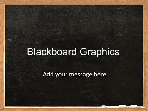 blackboard powerpoint template free word templates