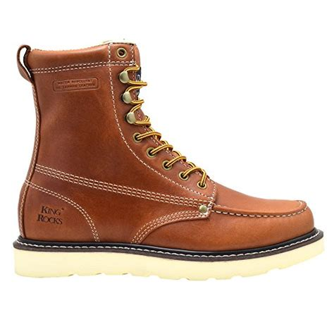 construction work boots for king rocks s 8 quot pu wedge construction work boots moc