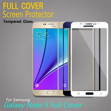 Temper Glas Tempered Glass Note 5 tempered glass for samsung galaxy note 5 cover screen protector 0 3mm 2 5d 9h protective