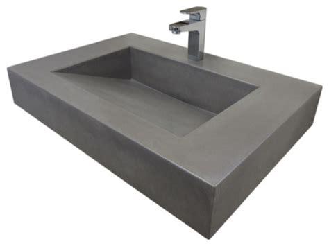 concrete bathroom sink modern bathroom sinks new 30 quot ada floating concrete sink modern bathroom sinks
