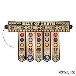 belt of truth oriental trading and armor of god on pinterest