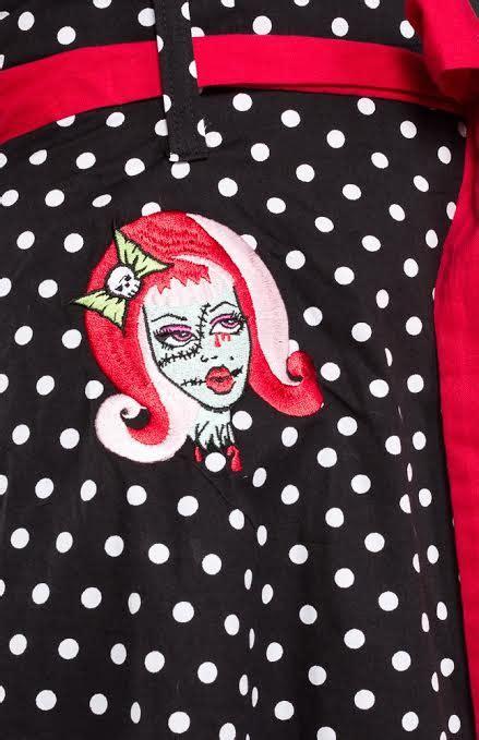 Sale By Rivantie Sz M L classic polka dot dress by paper doll sale sz m
