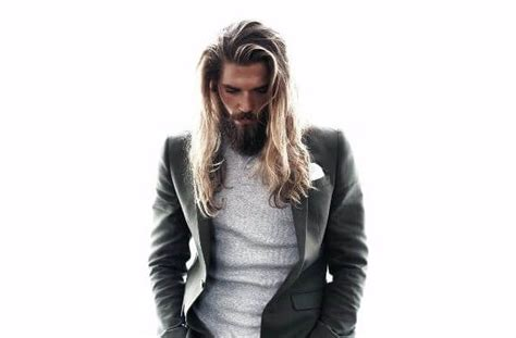 time hairstyles  men  long hair