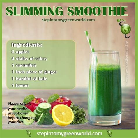 Best Kale Detox Smoothie by A Easy Slimming Kale Smoothie Not Only Will It