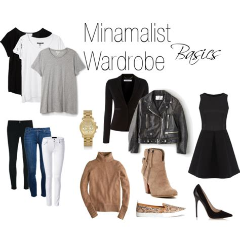 Five Wardrobe by Minimalist Wardrobe Basics Polyvore