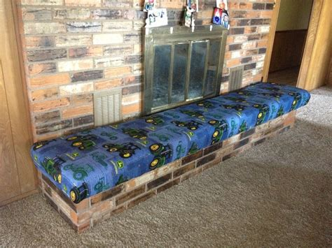 fireplace hearth bench fireplace hearth childproofed with a home made bench