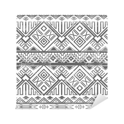 aztec pattern png abstract geometric seamless aztec pattern ikat style