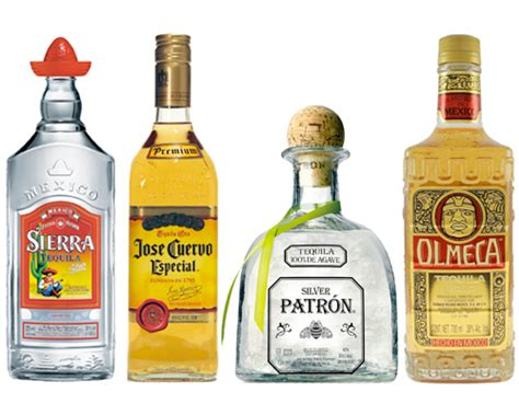 the top 5 brands of tequila sold in the united states