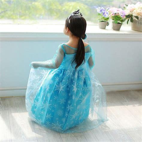 Sofa Anak Print Frozen frozen elsa baju anak size 130 z003 blue jakartanotebook