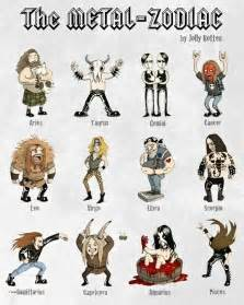 random cool what s your heavy metal zodiac sign