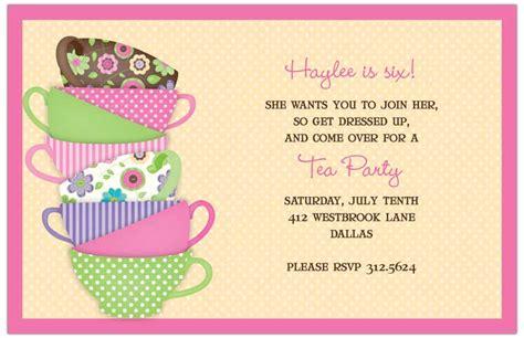 quick view r 331119 quot pink green tea cups invitations quot