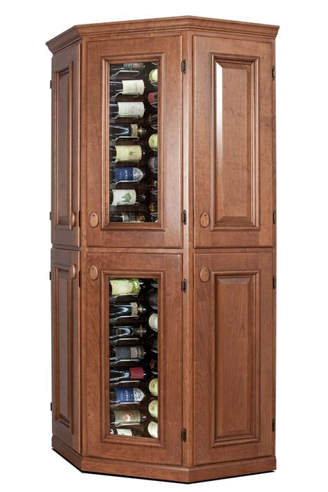 corner wine cabinets connoisseur corner vinotheque wine cellars