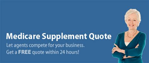 medicare supplement quote medicare supplement insurance