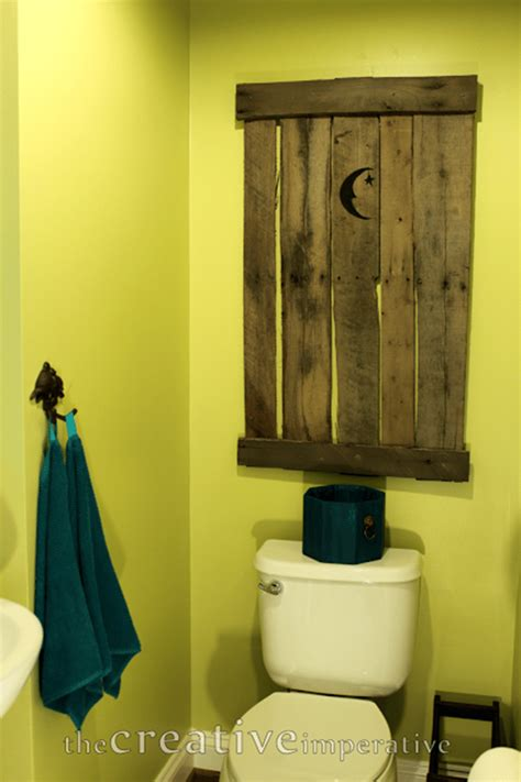outhouse decorations for bathroom catch as catch can 132 my repurposed life