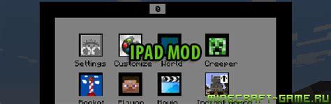 mod game for ipad скачать ipad mod для minecraft 1 6 2