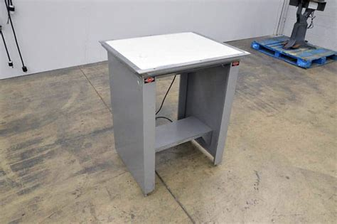 Lighted Drafting Table Nuarc Vlt23f Drafting Light Table 23 Quot X 28 Quot Proofing Boggs Equipment
