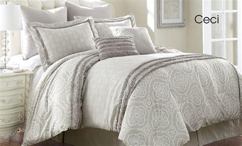 pacific coast textile 8 comforter set