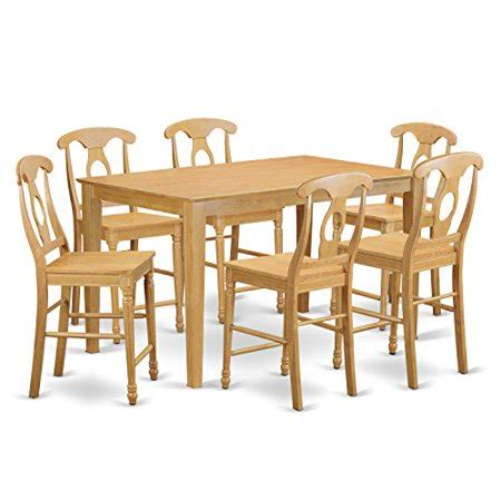 7 Piece Kitchen Table Sets by Cake7h Oak W 7 Piece Pub Table Set Pub Table And 6 Kitchen