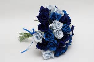 blue wedding bouquets gorgeous blue roses wedding bouquets to inspire you ipunya