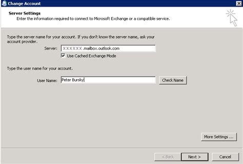 Office 365 Outlook Server Name How To Set Up Manualy Outlook 2010 For Office 365