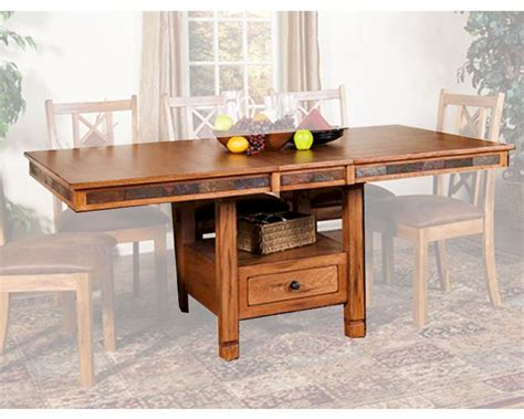 designs sedona dining table butterfly dining table sedona by designs su 1177ro