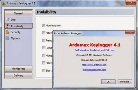 free download keylogger terbaru full version ardamax keylogger 4 1 0 professional edition full serial