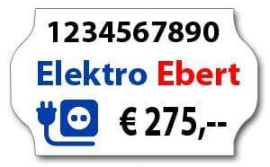 Etiketten Umkleben by Preisetiketten Kaufen Etiketten F 252 R Preisauszeichner Und