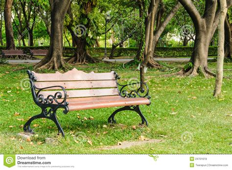 bench in the park bench in the park royalty free stock images image 24701619