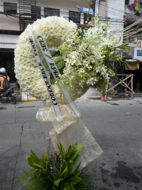 sympathy funeral flowers manila philippines