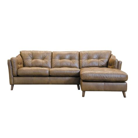 Saddler Leather Sofa by Saddler 4 Seater Sofa With Chaise Lhf