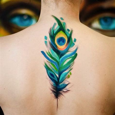peacock feather tattoo small 60 cool tattoos every wants list